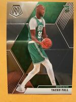 2019-20 Panini Mosaic Tacko Fall Rookie Card #244 - * MINT! WOW!! MUST SEE!!! *
