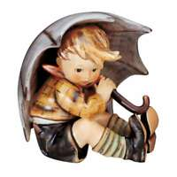 M.I. Hummel Figur Geborgen (Junge), HUM 152/A/2/0, Arthur Moeller, 9cm, 1152024