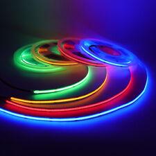 1m-5M COB Bendable LED Strip Lights Tape TV Back Lighting Fairy Light 384LEDs/M