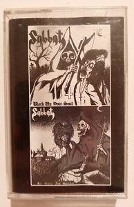 Sabbat -  Black Up Your Soul...For Satan Tape Black Metal Abigail Venom Bathory