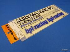 Vintage (HPI 9387) Nitro R40 Logo Decal Sticker