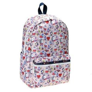 LeSportsac BTS Collection Carson Backpack in BT21 Multi NWT