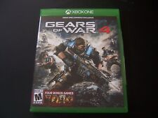 Replacement Case (NO  GAME) GEARS OF WAR 4 XBOX ONE 1 XB1 100% ORIGINAL