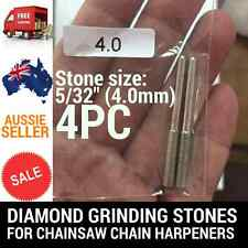 4 X 5/32 DIAMOND GRINDING STONES FOR CHAINSAW CHAIN SHARPENER OREGON STIHL ETC