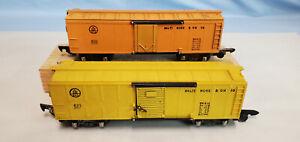 AMERICAN FLYER (LOT 6) 633 BOXCAR, 633 REEFER..........TK..