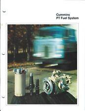 Equipment Brochure - Cummins - PT Fuel System for Diesel Engine (E4163)