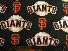 """SAN FRANCISCO GIANTS 60"""" WIDE COTTON FABRIC BY THE 1/2 YARD Fabric Traditions B"""