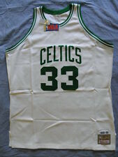 Mitchell Ness M&N Boston Celtics Larry Bird Authentic Jersey 54 NEW 2XL XXL NWT