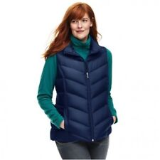 Lands' End Blue Plus Down Gilet Size XXL LF182 GG 05