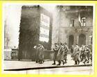1935 Italian Peacekeepers Patrol Saarbrucken Germany 7x9 Original Press Photo