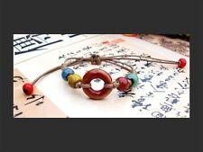 Life Vitality awake Energy Yoga Bracelet Colourful chakra Health Balance Wisdom