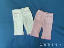 M&Co Girls' 100% Cotton Trousers & Shorts (0-24 Months)