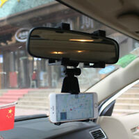 Universal Clip On Car GPS Dashboard Mount Cell Phone Holder Non-slip Stand AL