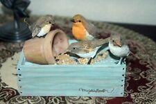 Hallmark's Marjolein Bastin Nature's Sketchbook Birds Gathering Trinket Box