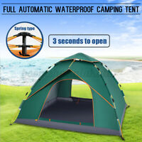 4-5 People Automatic Pop Up Tent Waterproof Fold Outdoor Camping Hikin