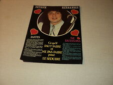 G193 PATRICK HERNANDEZ '1980 FRENCH CLIPPING