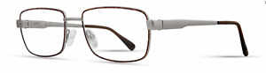 Safilo Elasta Men's Eyeglasses Havana Grey Size 54-17-145 Style #E3102/N