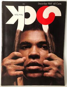 Vintage Jock New York Magazine Muhammad Ali Cover December 1969 Sports