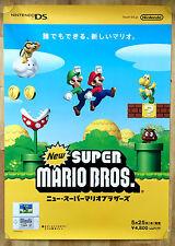 New super mario bros. rare nds 51.5 cm x 73 cm japanese promo poster