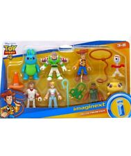 Toy Story 4 *DELUXE FIGURE PACK* Imaginext Woody Forky Duke Combat Carl Bo Peep