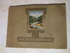 German Colonies cards album 1936 Deutsche Kolonien Bilderdienft