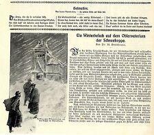 DR. W. larga principale un inverno visita sul Osservatorio della schneekoppe 1906