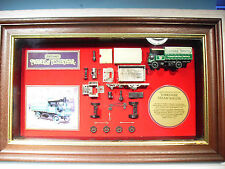 MATCHBOX MODELS OF YESTERYEAR  WALL MOUNTED MODEL YORKSHIRE STEAM WAGON DW116
