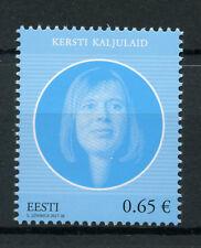 Estonia 2017 MNH Kersti Kaljulaid 1v Set Presidents Politicians Stamps