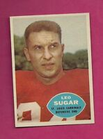 1960 TOPPS # 110 CARDINALS LEO SUGAR  NRMT CARD (INV# A4125)