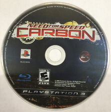 Need for Speed: Carbon (Sony PlayStation 3, 2006) Car Racing PS3 Game Disc Only