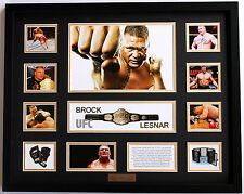 New Brock Lesnar Limited Edition Memorabilia Framed