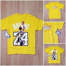 Black Mamba Farewell Majestic Kobe Bryant  24 Lakers T-Shirt Youth Medium  NWT 7d501ccd5