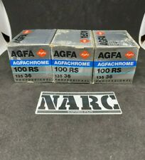 3 x Agfachrome 100 RS 100 Slide 35 film expired film