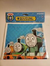 8pc Thomas the Train and Friends Treat Favor Birthday Party Loot Candy Gift Bags