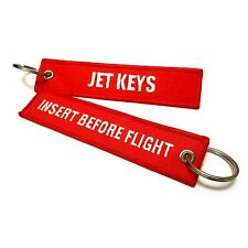 Jet Keys / Insert Before Flight Keychain | Luggage Tag | QTY: 1| aviamart®