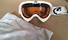 Dragon Brand Goggles Ski Snowboard Adult Child READ white Orange