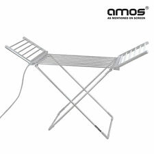 AMOS 230 Electric Heated Clothes Dryer Folding Indoor Airer Laundry Horse Rack