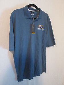 Nike Blue Robert Griffin Foundation Golf Shirt L-Owned by Ladainain Tomlinson