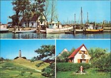 Hiddensee Hiddensjö, Hiddensöe Neuendorf Hafen, Kloster Seemannshäuschen 1978