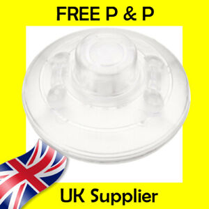 CLEAR INLINE LIGHT FOOT SWITCH - GOOD QUALITY - FAST SHIPPING - UK STOCK