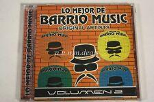 Lo MeJor De Barrio Music Vol 2  Music CD