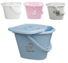Baby Nappy Changing Dispose Diapers Laundry Bin Storage Bucket and Lid 12L