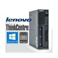PC COMPUTER FISSO DESKTOP LENOVO M90 i3 530 SMALL WINDOWS 10 4GB SSD 120GB.
