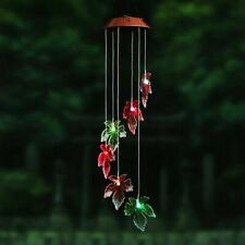 Solar Lamp Color Changing Led Star Wind Chimes Outdoor Home Garden Decor