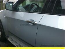 Manijas De Las Puertas Cromadas Esconden BMW X5 E70 X6 E71 sin Paquete de luz