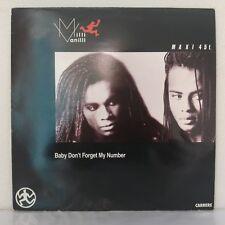 "Milli Vanilli – Baby Don't Forget My Number (Subway Mix) (Vinyl, 12"",Maxi 33 T)"