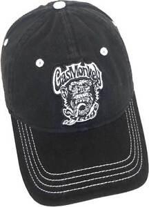 Gas Monkey Garage Logo Grease Glory American Muscle Cars Adjustable OSFA Cap Hat