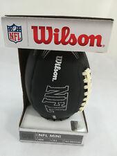 NFL AMERICAN FOOTBALL MINI WILSON BALL. Black, All Weather Material 2013