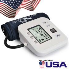 Digital Arm Blood Pressure Monitor Heart Beat Meter Medical Families Health Care