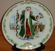 "Lenox ""Father Christmas"" Victorian Britain Santa 8.25"" Collector's Plate 1993"